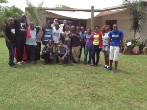 Team building for Young tour operators at Pundamilia camp Nakuru