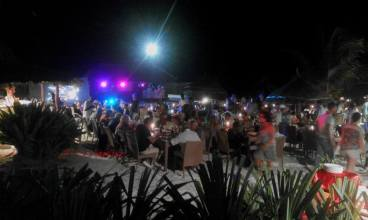 papa remo beach party