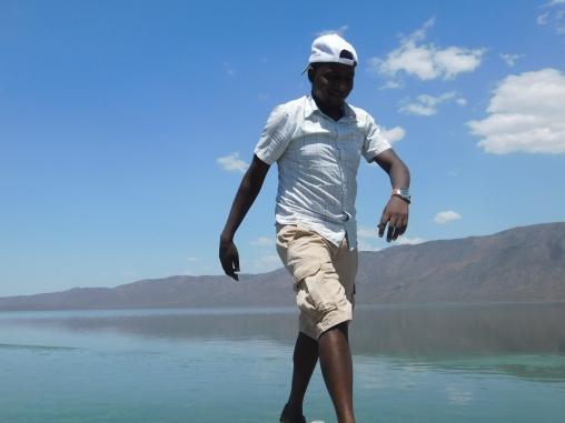 when Eliud was walking on Water