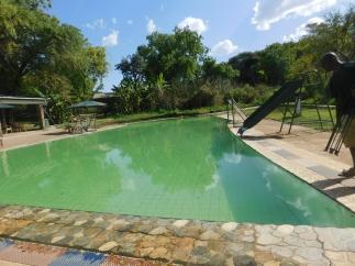 The Natural spa pool at the Resort