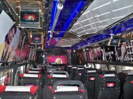 Inside the matatu