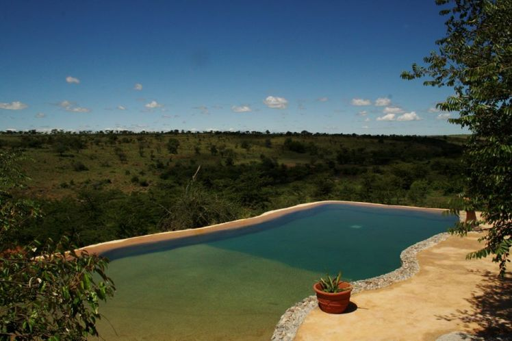 The Mara Pool overlooking the wilderness