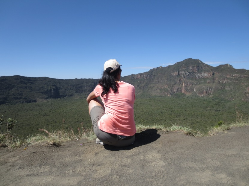 Mount Longonot: I am coming for you (8th October2017)