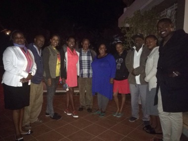Tour Operator society of kenya With Mr & Mrs Benjamin Mengi