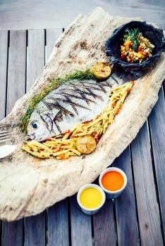 Anantara Medjumbe Island Resort - Fresh Fish