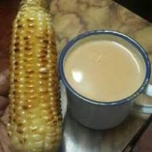 mahindi choma with ndubia