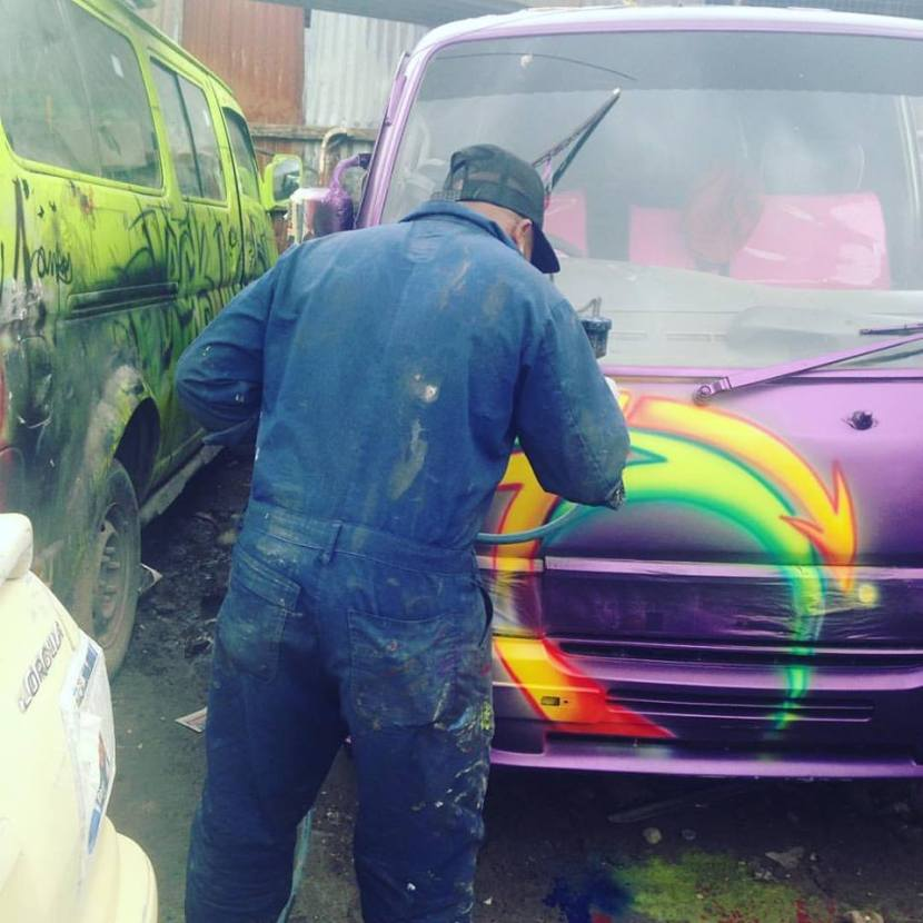My city tour with a graffitihunter…