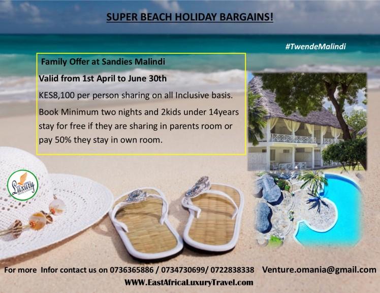 Sandies Family offer