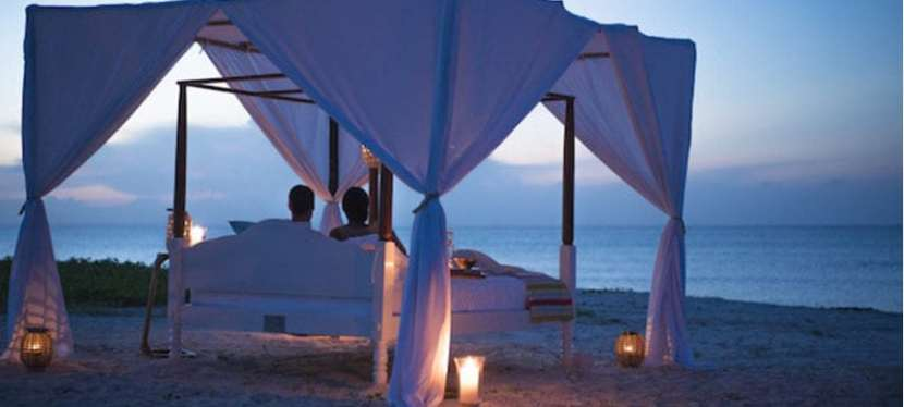 A night under the stars in medjumbe Island-Mozambique